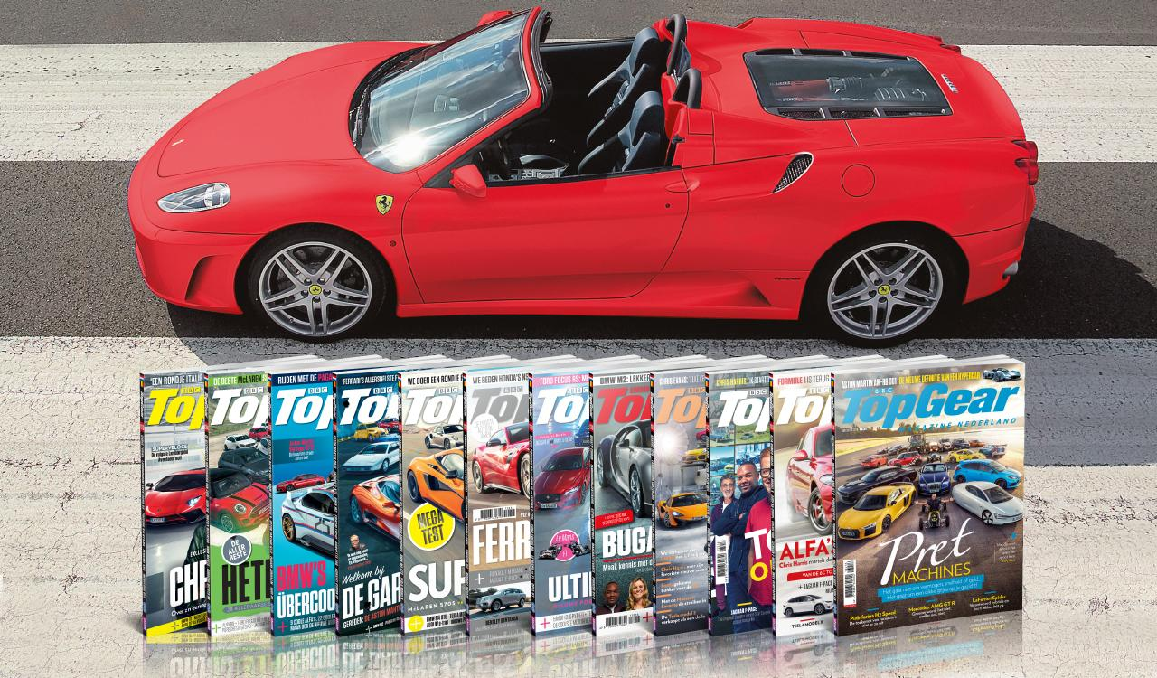 rondje Ferrari-rijden bij TopGear