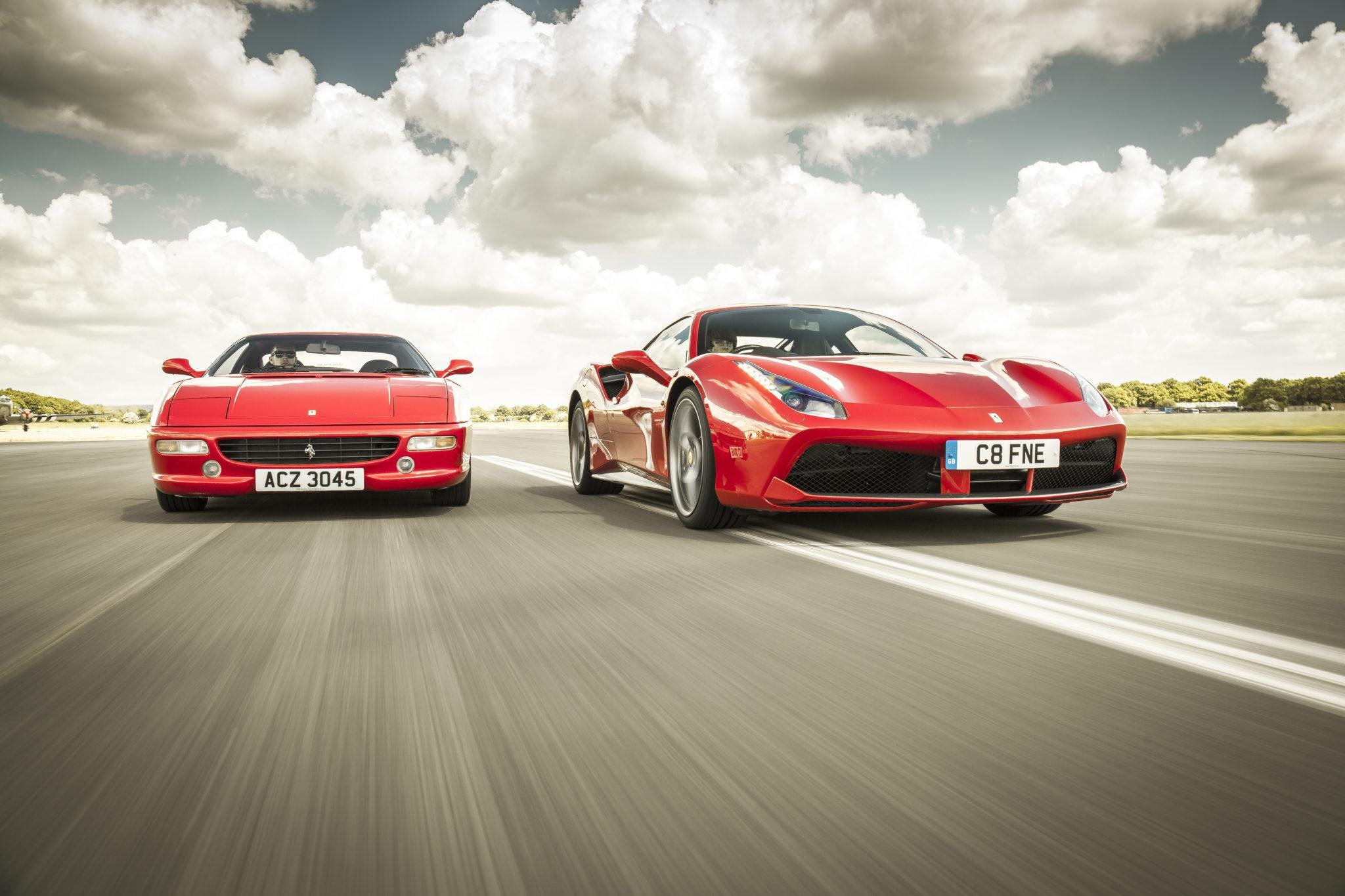 snelste Ferrari's op Fiorano f12 tdf