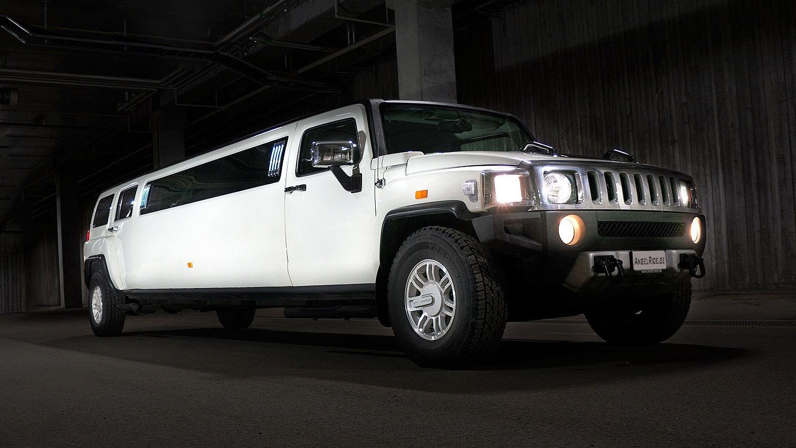 Sportschool met Hummer-service Hummer H2 limousine