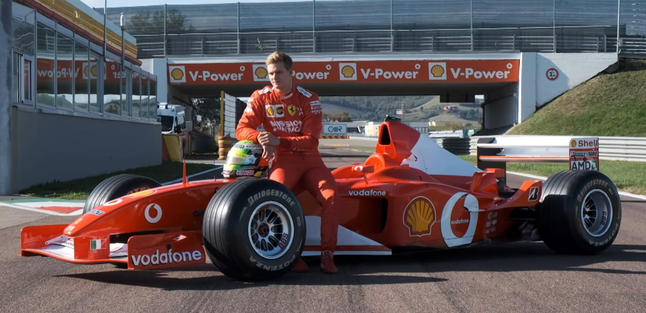 Mick Schumacher Ferrari F2002