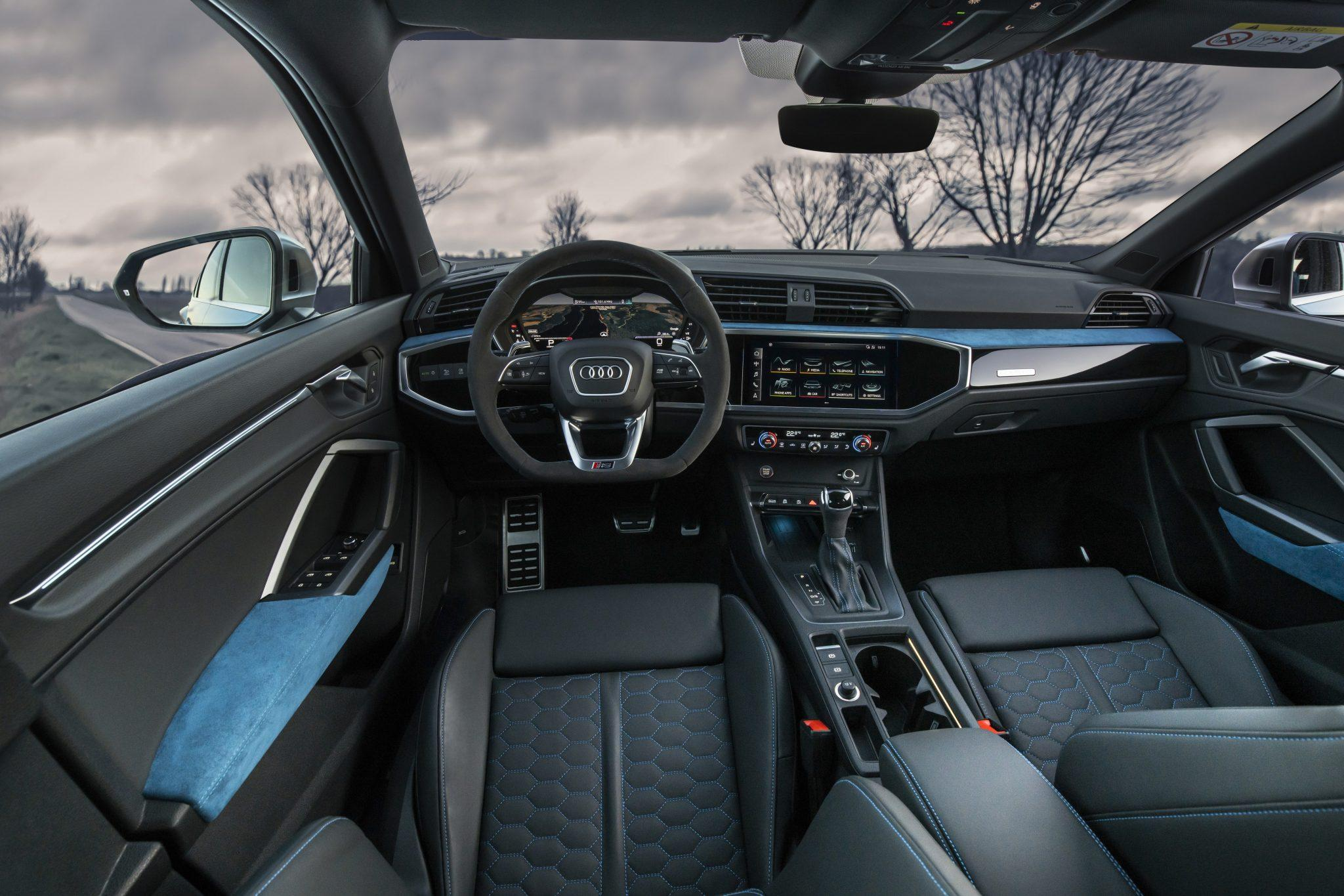 Interieur en dashboard Audi RS Q3 Sportback